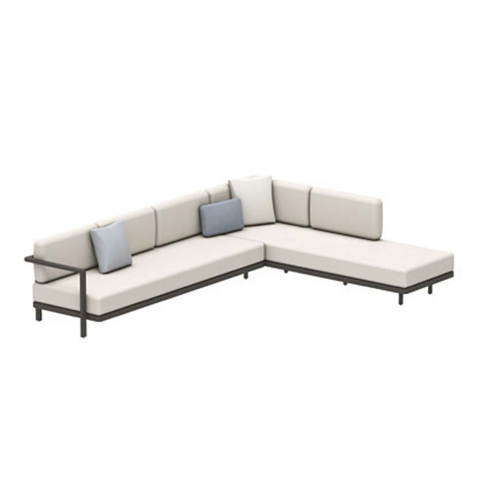 Set A • Royal Botania Red Label • Alura Lounge Ecksofa 07 • 330 × 245 rechts/links