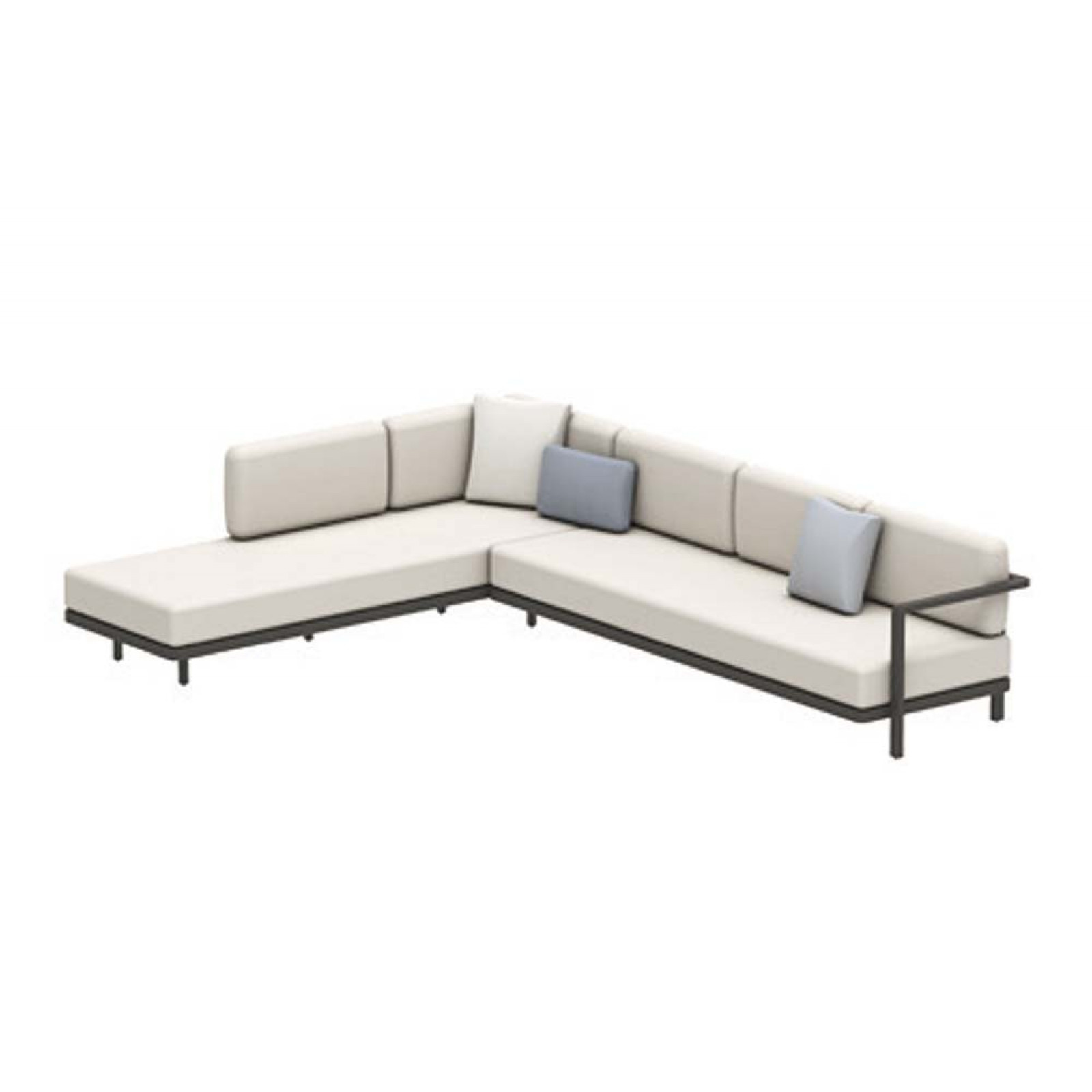 Set B • Royal Botania Red Label • Alura Lounge Ecksofa 07 • 330 × 245 rechts/links