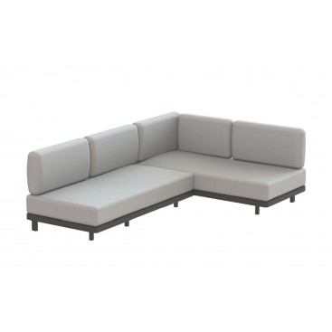 Royal Botania Red Label • Alura Lounge Ecksofa 01 • 245 cm rechts/links