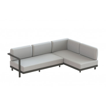 Royal Botania Red Label • Alura Lounge Ecksofa 02 • 250 cm rechts/links